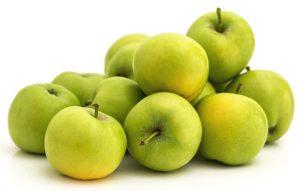 Jablka zelená