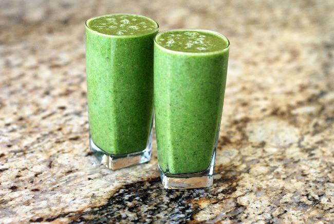 Detoxikační smoothie - zelené