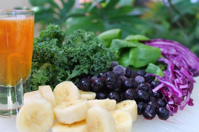 Detoxikační smoothie - zelenina