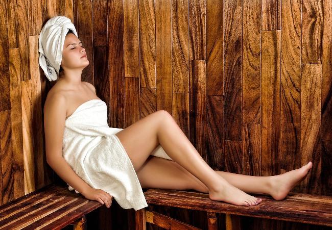 Wellness - saunování
