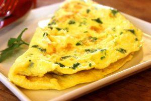 Vaječná omeleta popenec
