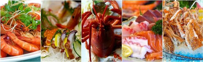 Jídlo - mořské plody
