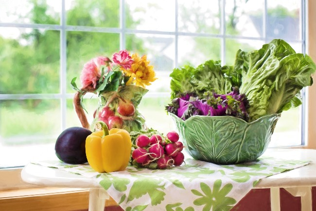 Letní jídelníček - zelenina