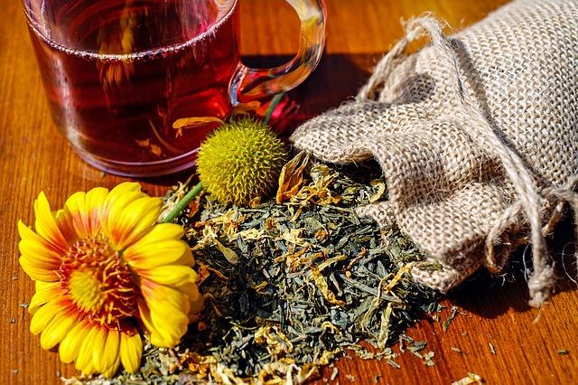 Detoxikační čaj, byliny