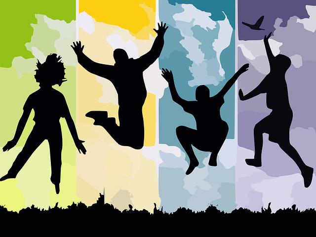 Jumping, skákání, detoxikace