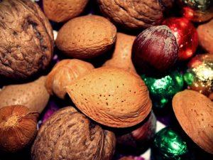 Ořechy, vánoce