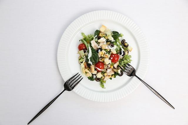Jídelníček, zelenina