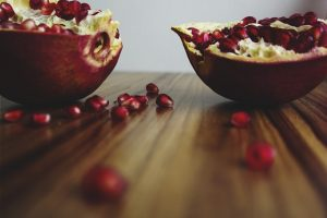 Exotické superpotraviny, granátové jablko