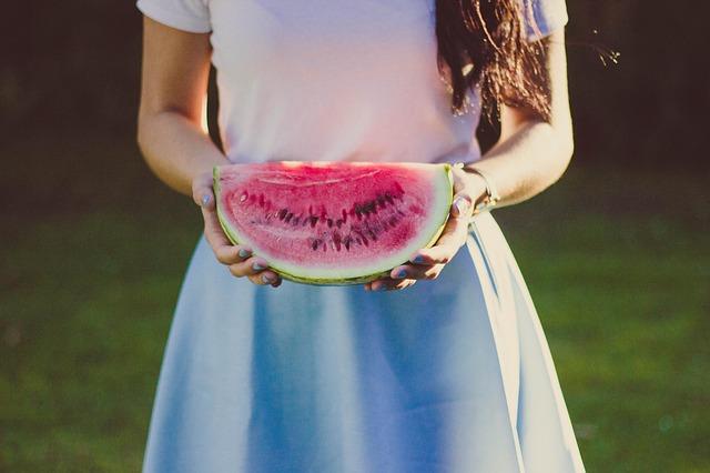 Meloun, léto, letní jídelníček