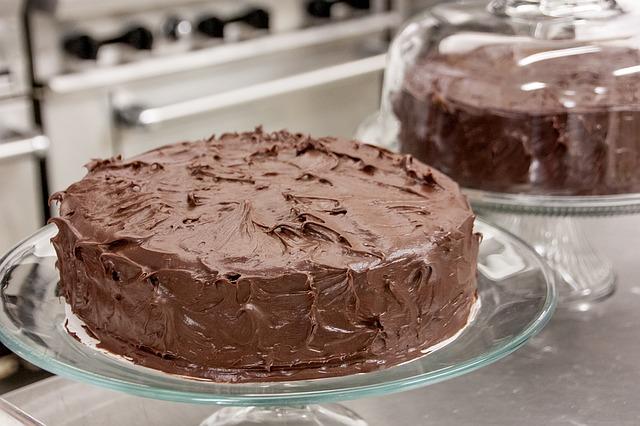 Letní dezert - čokoládový dort