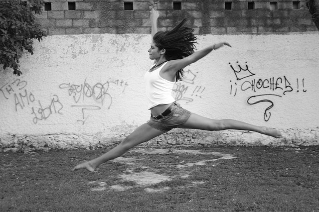 Tanec, sport na hubnutí