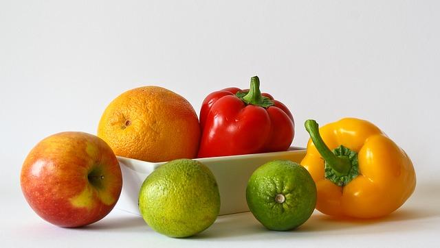 Ovoce a zelenina, jogínská strava