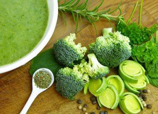 Barevný jídelníček, zelené potraviny