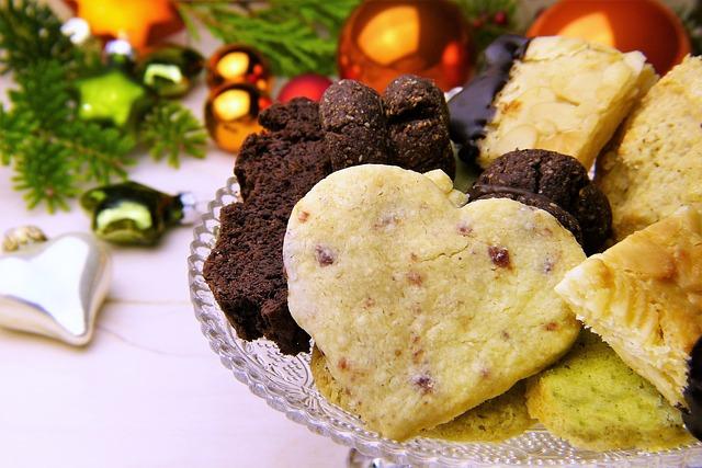 Veselé a zdravé Vánoce, vánoční cukroví