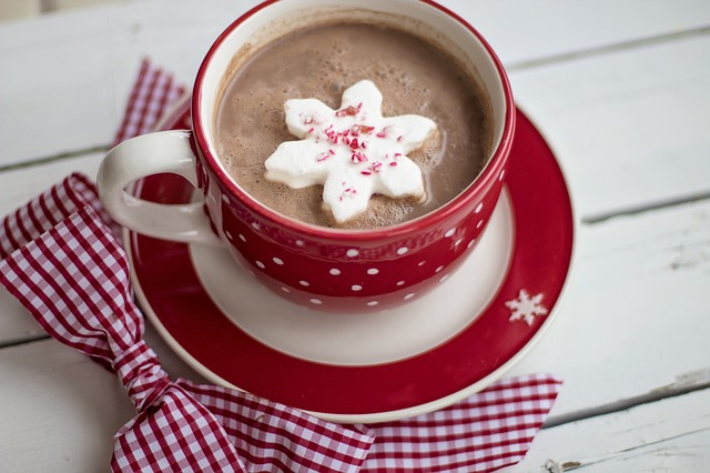 Horká mandlová čokoláda