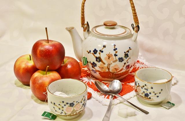 Zimní nápoje - horké jablko