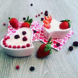 Valentýnský dezert: smoothie bowl