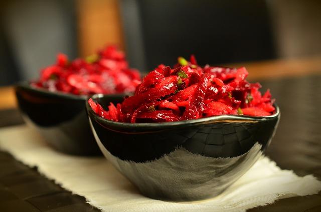 Červená řepa - potraviny, jarní očista