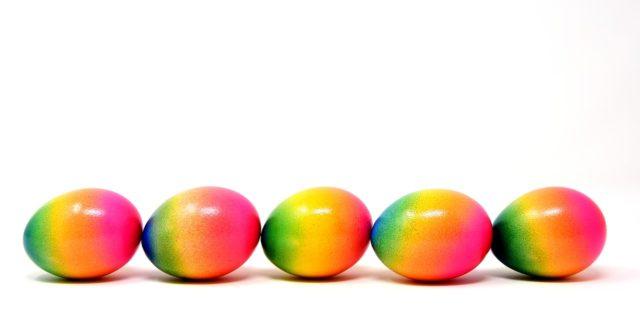 Velikonoce, velikonoční vajíčka