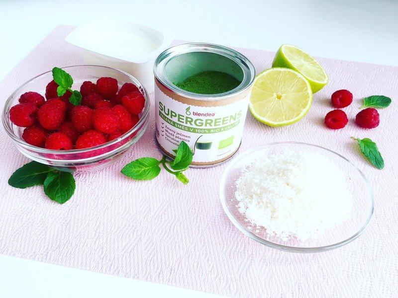 Malinové smoothie