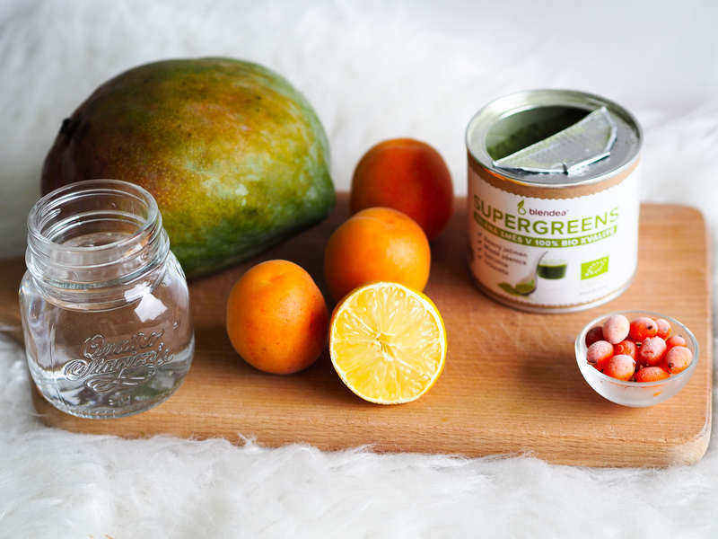 Smoothie s meruňkami
