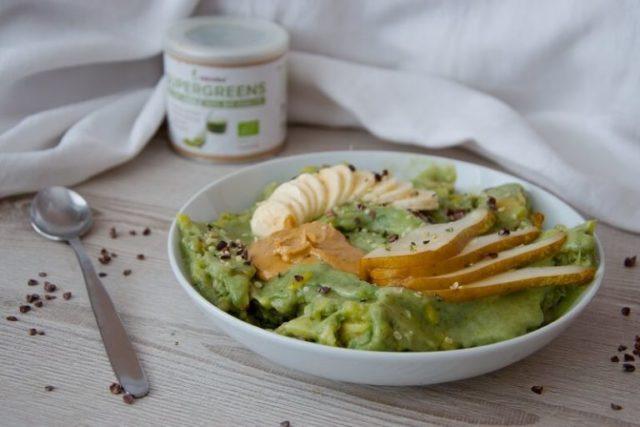 Zelená zmrzlina