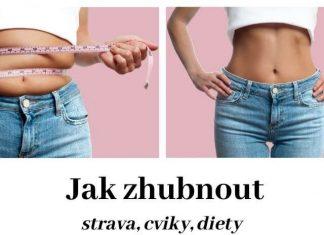 Jak zhubnout - cviky, diety, strava