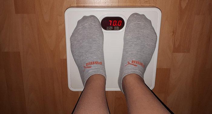 váha, vážení, hubnutí