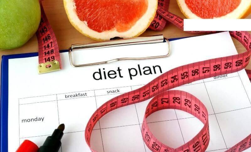 Plán hubnutí by měl obsahovat nejen vaši hmotnost před začátkem diety, ale i jídla, které jste jedli