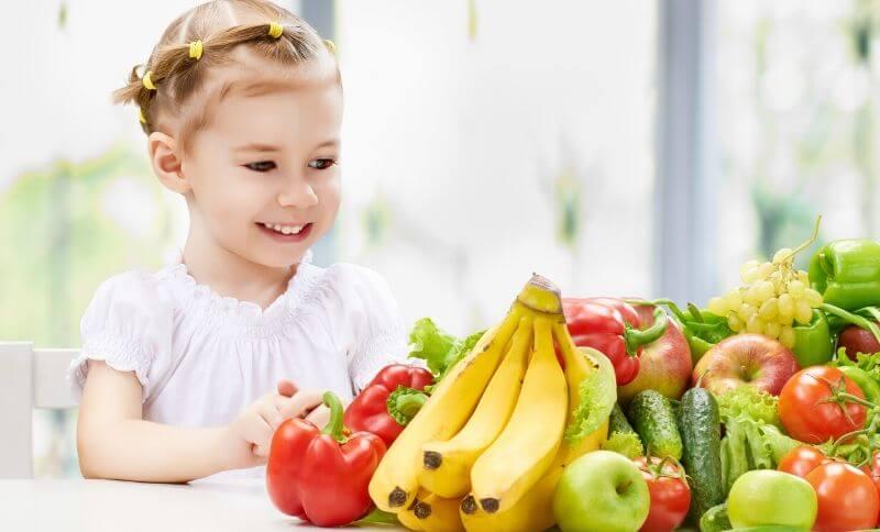 BMI děti jídelníček