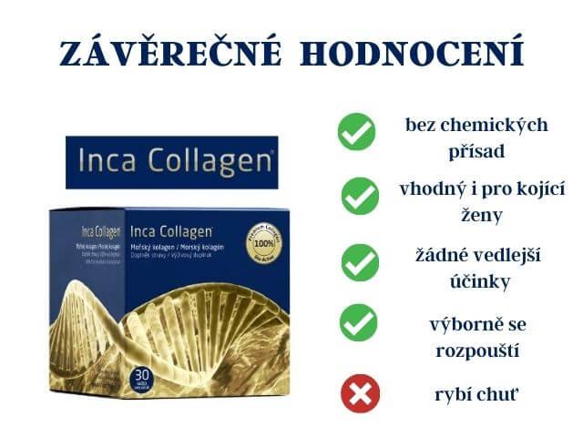 Pozitiva a negativa Inca Collagen