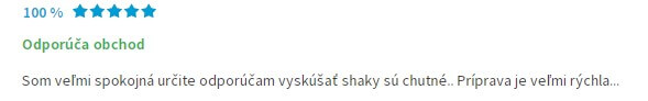 Doporučení Chia Shake na Heurece
