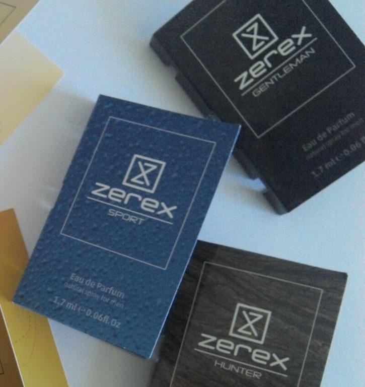 Vzorky afrodiziakálních parfémů