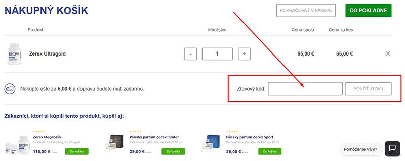 Online nákupní košík