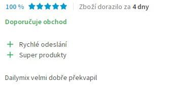 Pozitivní recenze na diskusním fóru Heureka