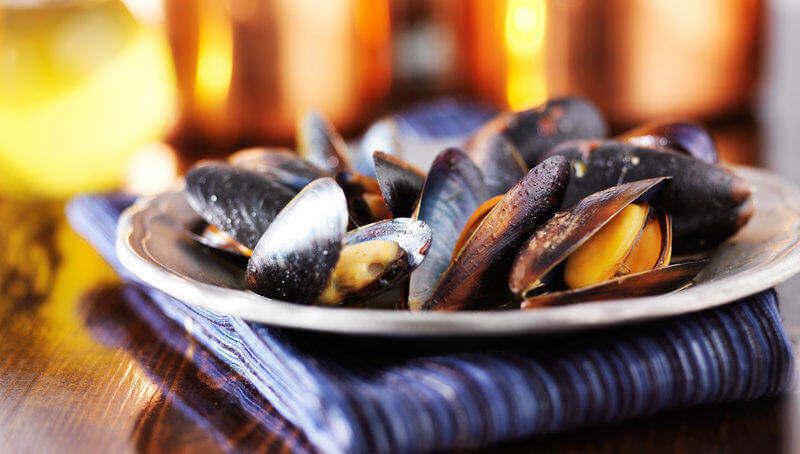 Low carb potraviny - mušle obsahují pouze 5% sacharidů