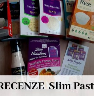 Recenze- těstoviny Slim Pasta