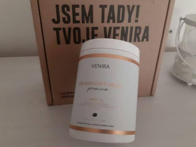 Venira kolagen Premium obsahuje až 8000 miligramů kolagenu v jedné dávce