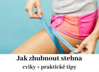 Jak zhubnout stehna - cviky a praktické tipy