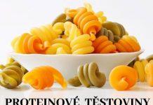 Proteinové těstoviny různé druhy